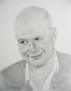 min et par år gamle tegning af Thomas Blachman